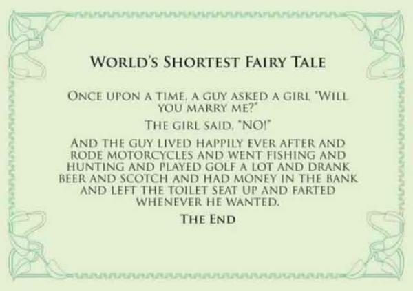 کوتاهترین افسانه جهان