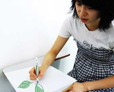 بعد از اسکن، نقاشی بکشید