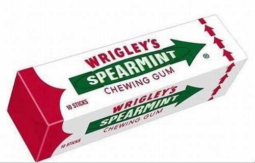 آدامس نعنایی Wrigley محبوب ترین آدامس در آمریکا است. زیرا بوی الکل را از بین می برد.