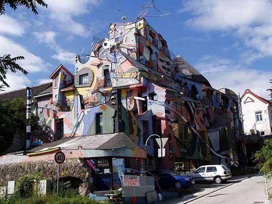 ساختمان های عجیب و غریب,هنر معماری (3)