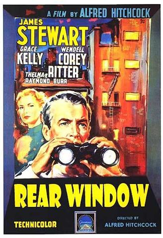 پنجره پشتی (Rear Window) محصول 1954