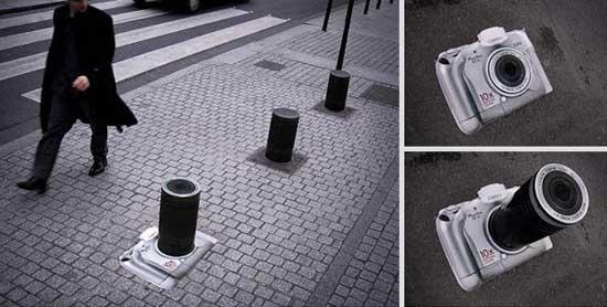 تصاویر تبلیغات خیابانی