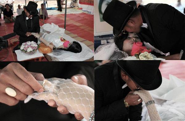 ازدواج به دوست دختر مرده اش