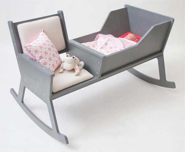 صندلی گهواره ای مدرن با سیستم لالایی جالب در جهت رفاه حال مادران! (3)