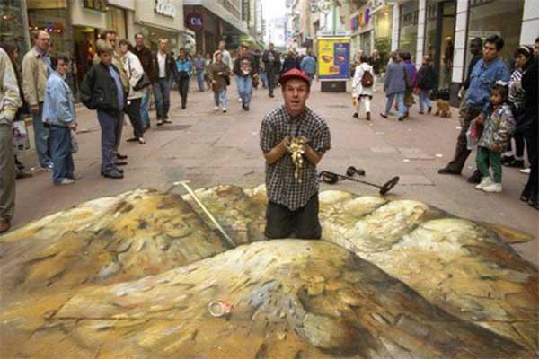 تصاویر سه بعدی خیابانی (14)