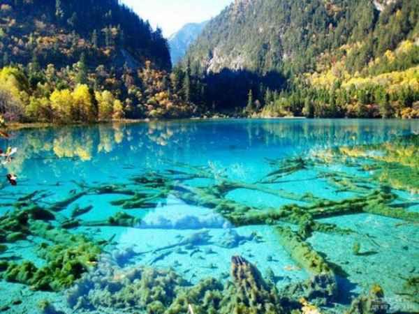 دریاچه فیروزه - پارک ملی چین