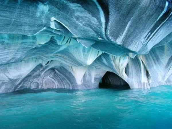 غار سنگ مرمر - شیلی