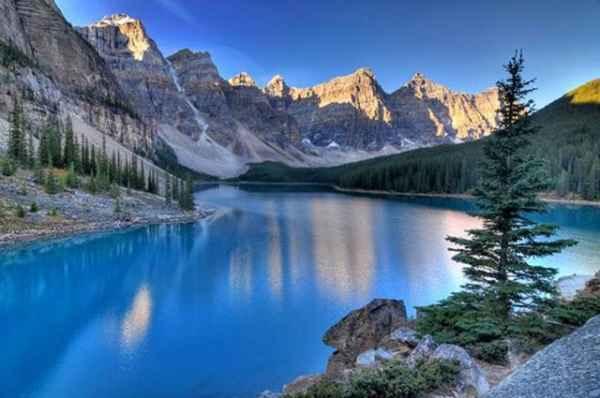 """دره """"ده قله"""" - آلبرتا کانادا"""