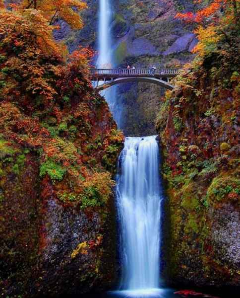 آبشار Multnomah - اورگان ایالات متحده آمریکا