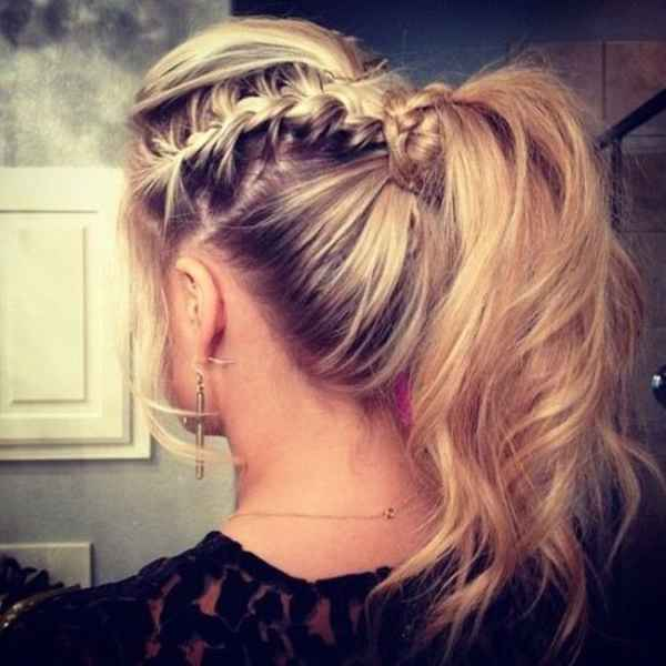مدل موهای بافته شده بسیار زیبا (8)