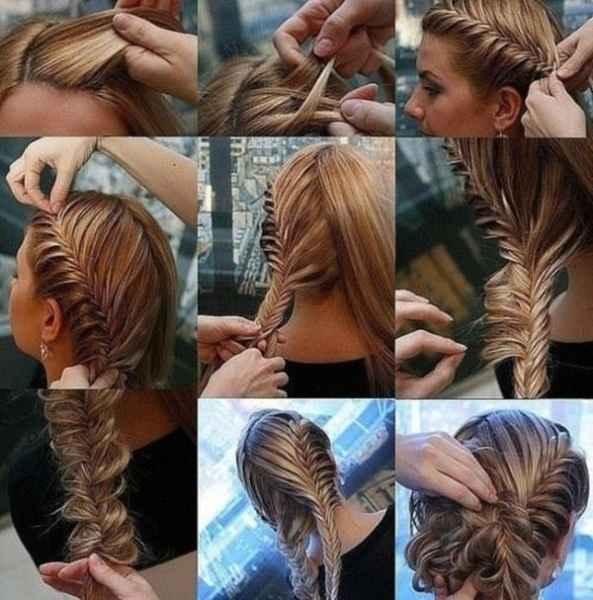 مدل موهای بافته شده بسیار زیبا (7)
