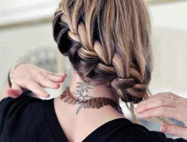 مدل موهای بافته شده بسیار زیبا (4)