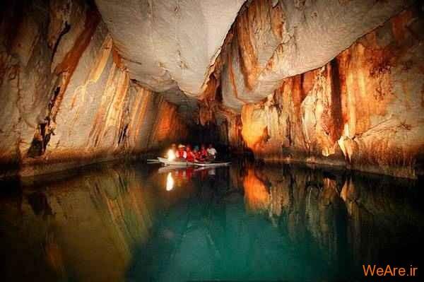 روزخانه زیرزمینی Puerto Pricesa (فیلیپین)