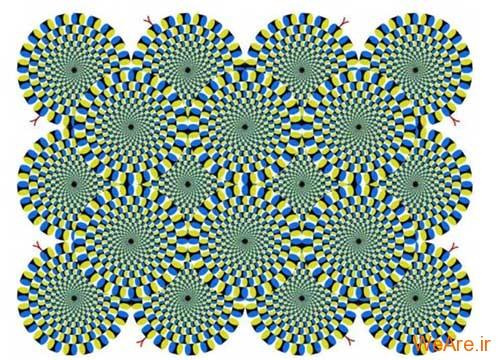 مغشوش شدن ادراک عمق (Confuse your Depth Perception)