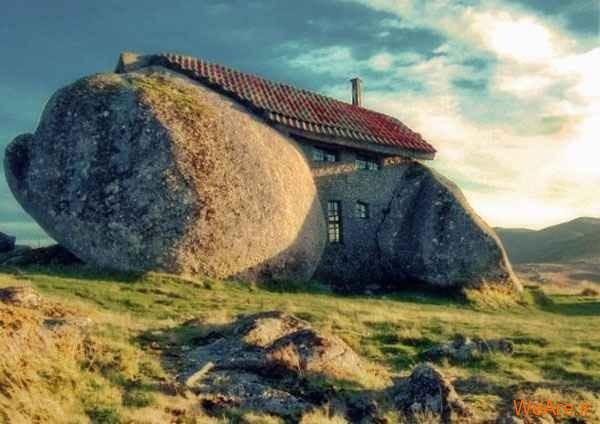 خانه سنگ در پرتغال