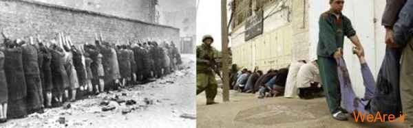 مقایسه جنایات هیتلر و صهیونیست ها (11)