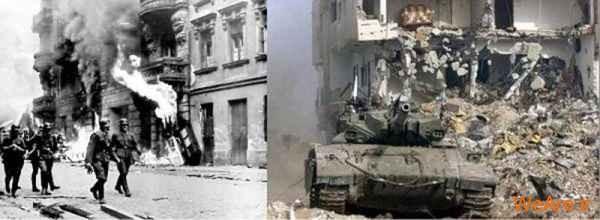 مقایسه جنایات هیتلر و صهیونیست ها (14)