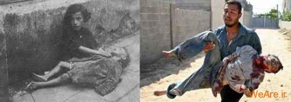 مقایسه جنایات هیتلر و صهیونیست ها (18)
