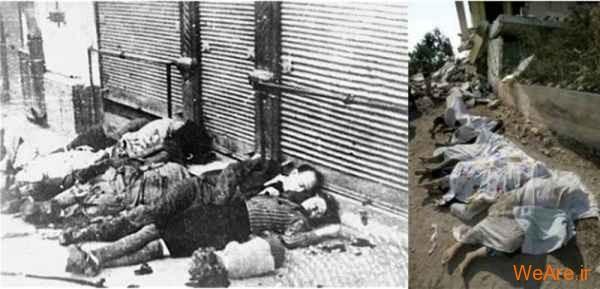 مقایسه جنایات هیتلر و صهیونیست ها (19)