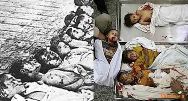 مقایسه جنایات هیتلر و صهیونیست ها (21)
