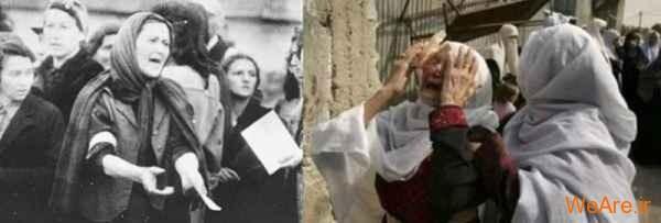 مقایسه جنایات هیتلر و صهیونیست ها (24)