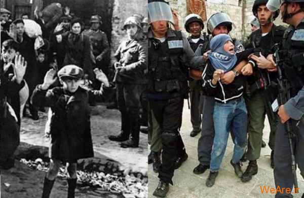 مقایسه جنایات هیتلر و صهیونیست ها (27)