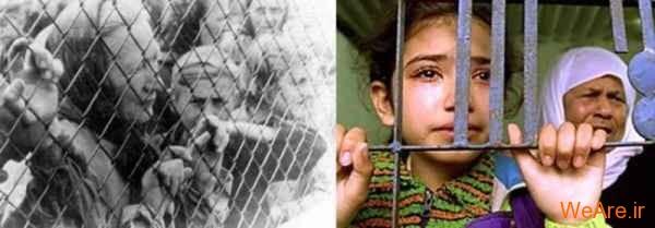 مقایسه جنایات هیتلر و صهیونیست ها (5)