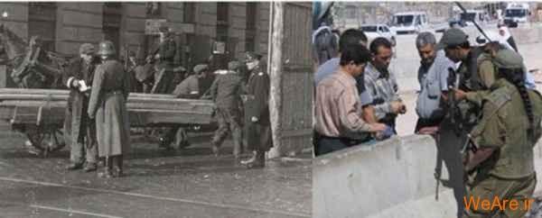 مقایسه جنایات هیتلر و صهیونیست ها (6)