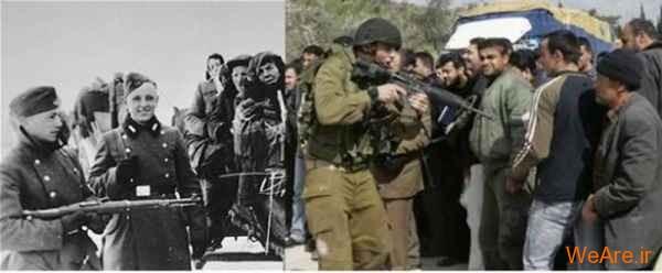 مقایسه جنایات هیتلر و صهیونیست ها (7)