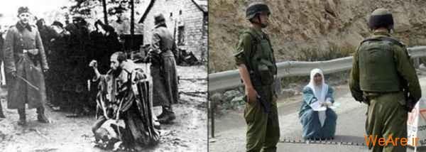مقایسه جنایات هیتلر و صهیونیست ها (8)