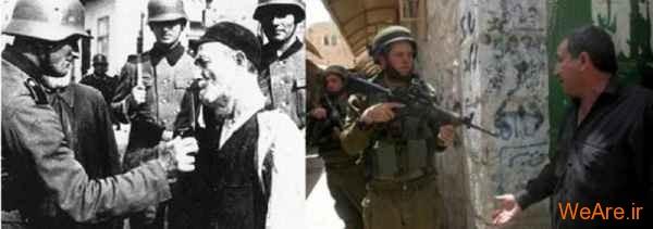 مقایسه جنایات هیتلر و صهیونیست ها (9)