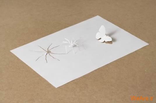 شکل های زیبا تنها با یک برگ کاغذ (11)