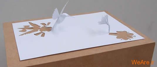 شکل های زیبا تنها با یک برگ کاغذ (12)