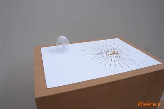 شکل های زیبا تنها با یک برگ کاغذ (14)