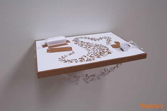 شکل های زیبا تنها با یک برگ کاغذ (15)