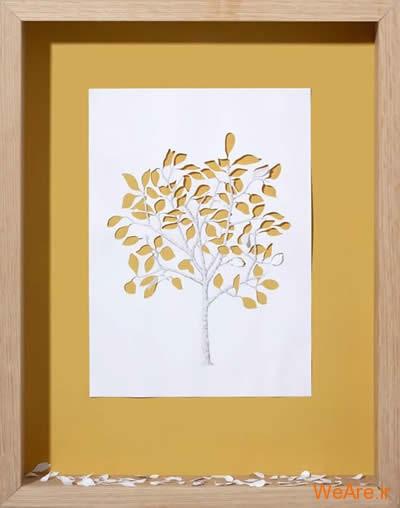 شکل های زیبا تنها با یک برگ کاغذ (17)