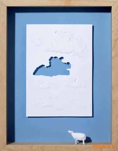 شکل های زیبا تنها با یک برگ کاغذ (20)