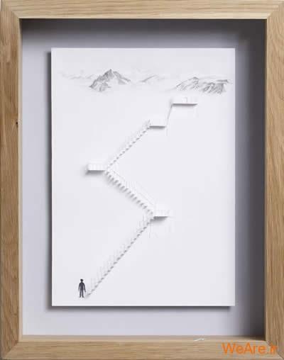 شکل های زیبا تنها با یک برگ کاغذ (21)