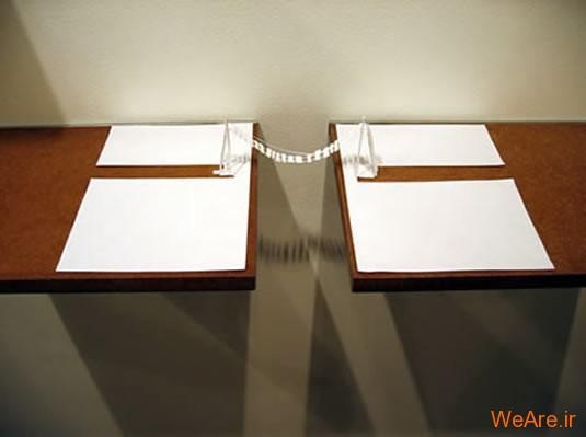 شکل های زیبا تنها با یک برگ کاغذ (4)