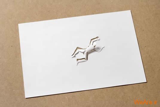 شکل های زیبا تنها با یک برگ کاغذ (6)