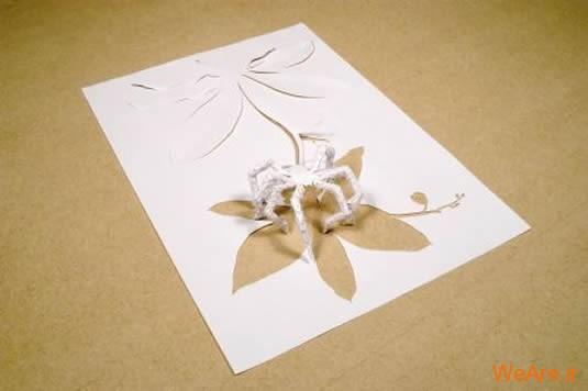 شکل های زیبا تنها با یک برگ کاغذ (9)