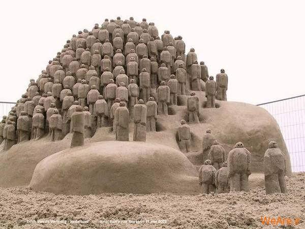 مجسمه های شنی تحسین برانگیز (9)