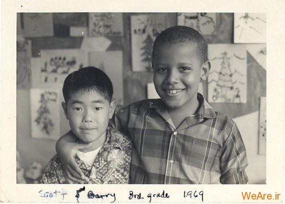 عکس بچگی اوباما (13)