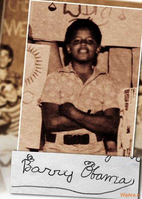 عکس بچگی اوباما (11)
