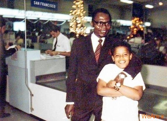 عکس بچگی اوباما (9)