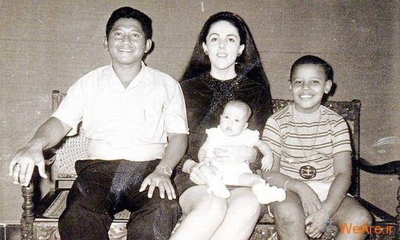 عکس بچگی اوباما (8)