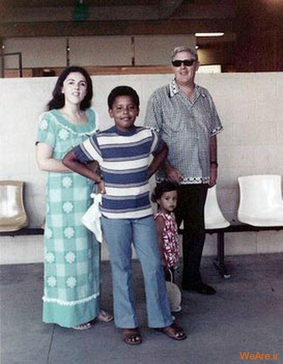 عکس بچگی اوباما (7)