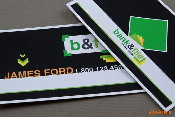 کارت های ویزیت خلاقانه و زیبای تجاری (29)
