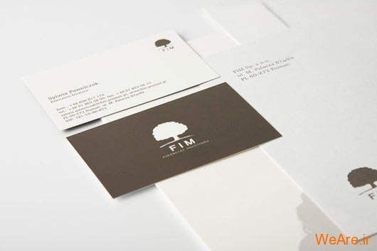 کارت های ویزیت خلاقانه و زیبای تجاری (25)