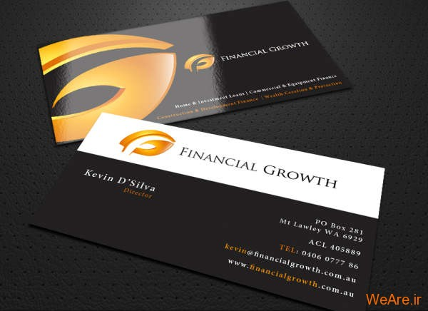 کارت های ویزیت خلاقانه و زیبای تجاری (17)